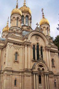 Wiesbaden, Neroberg: Russisch-Orthodoxe Kirche.