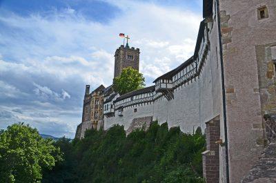 Ein nationales Denkmal: die Wartburg. © Foto: Uwe von Schirp